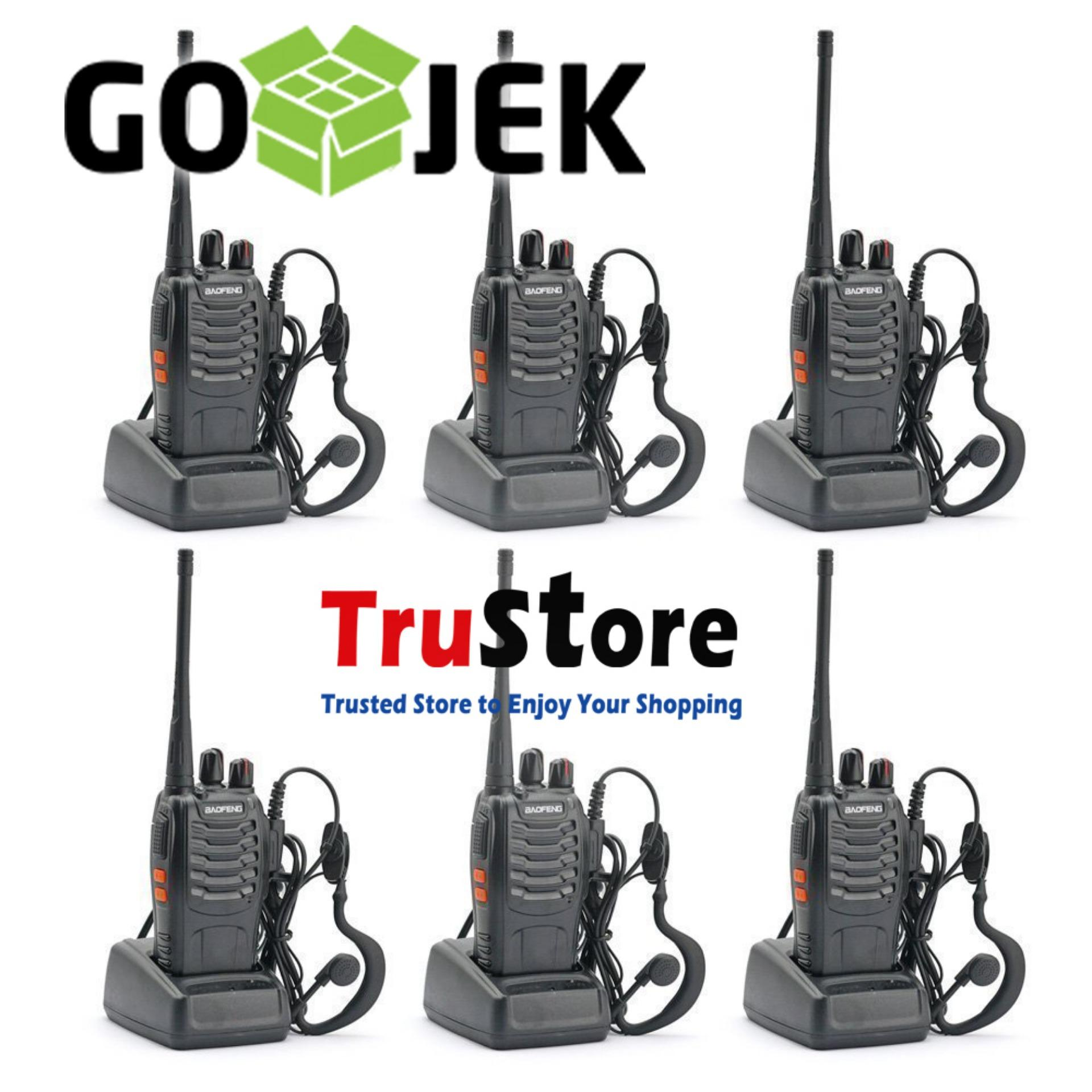 Beli Talky Ht Baofeng Store Marwanto606 Uv5r Handy Talkie Walkie Bf Dual Band Paket 6 Unit Radio 888s