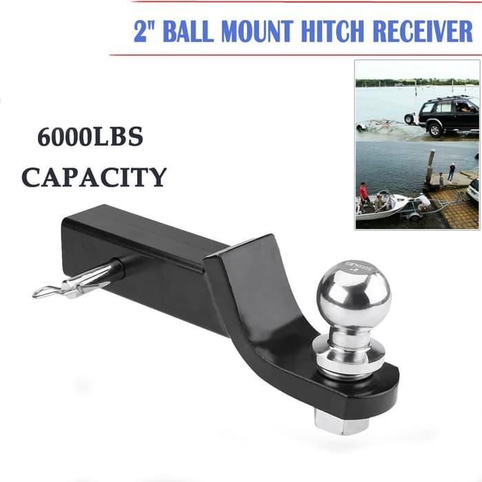 Towing Ball 2 Inch Kapasaitas 5000lbs By Monza Variasi.
