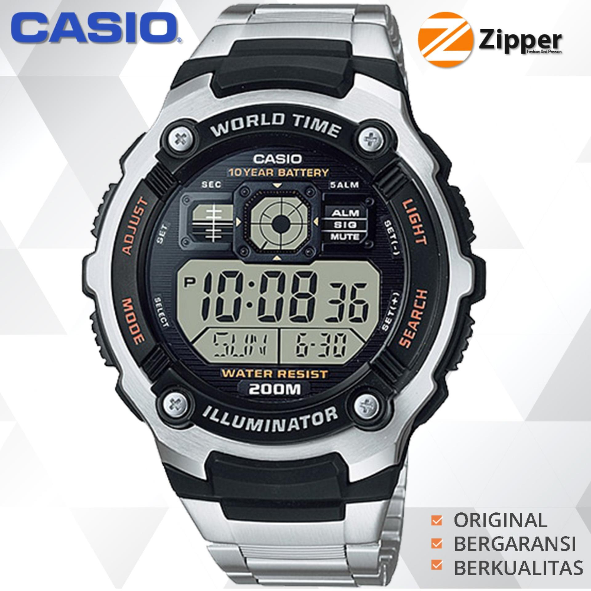 Casio Illuminator Jam Tangan Digital AE-2000 Series Youth Series