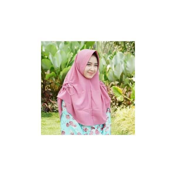 BEST SELLER !  Hijab Jilbab Khimar Instan Talita Serut Samping