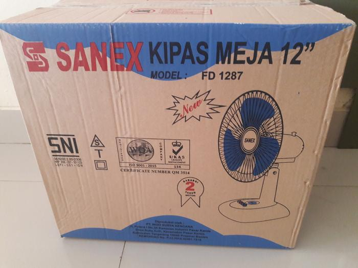 Kipas Meja / Desk Fan Sanex 12