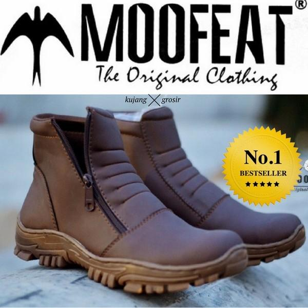 Sepatu Boots Caterpillar Pria Safety Tracking Boot Outoor Caterpillar