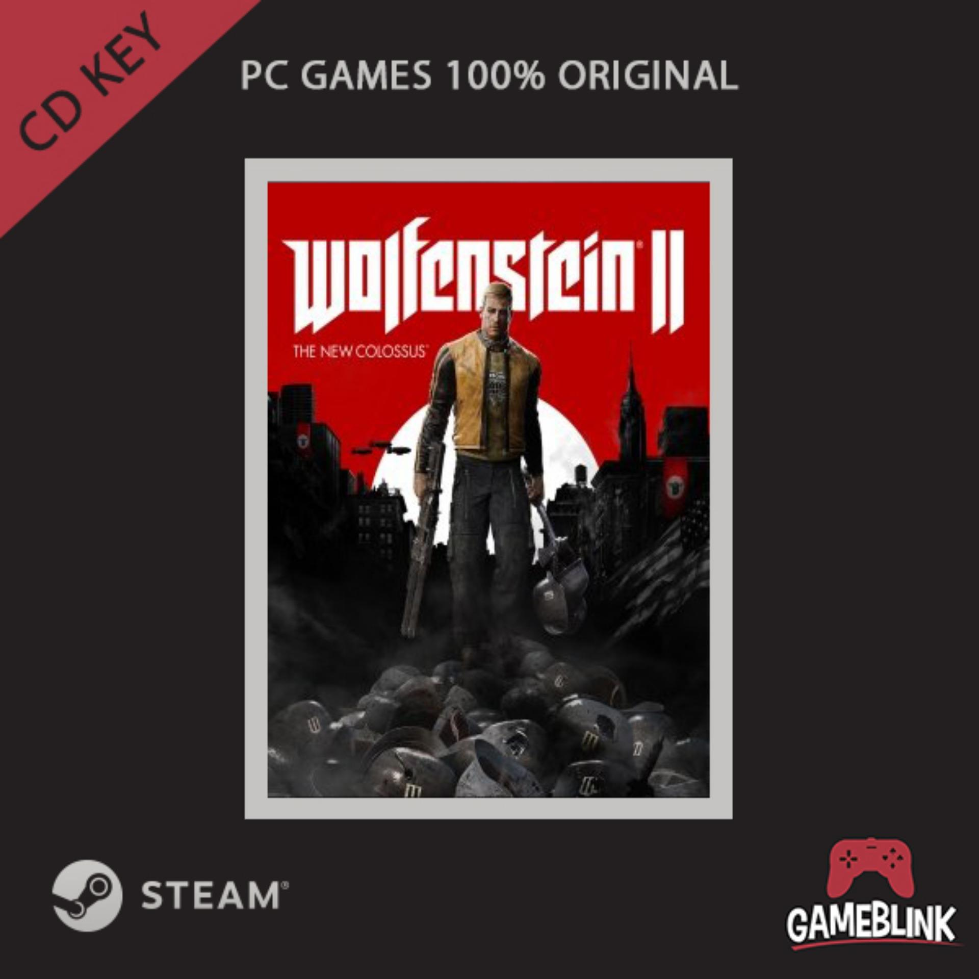Buy Sell Cheapest Sepatu Eagle Colossus Best Quality Product Deals Running Wolfenstein 2 The New Steam Cd Key