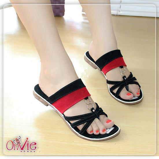 Sandal Jepiit Silang Wanita Flip Flop | Sendal Cewek Cantik  SDL55