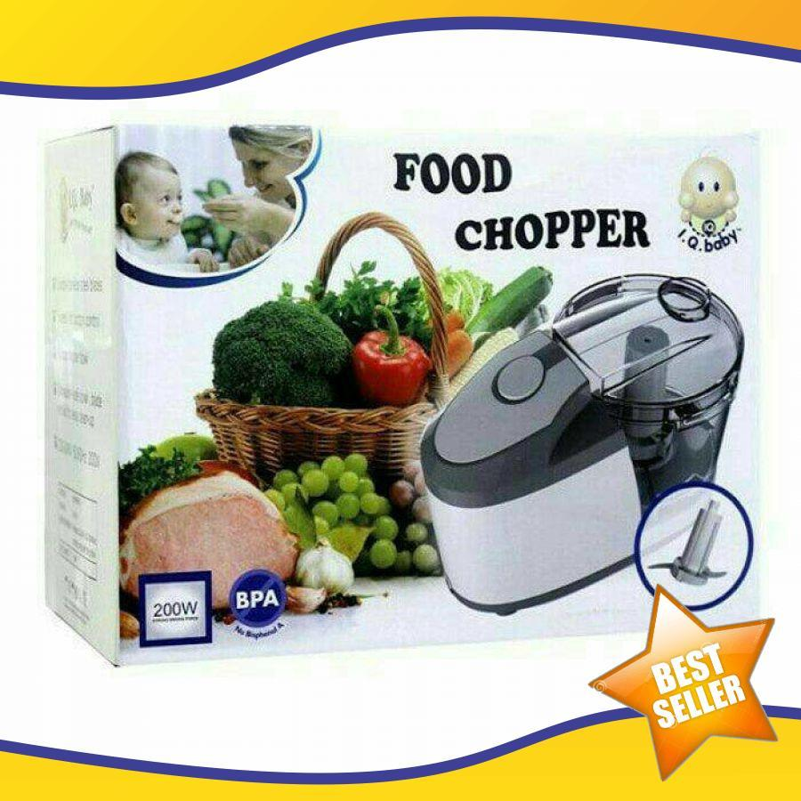 Iq Baby Food Chopper (Blender Bayi) Baby Food Maker Food Processor Produk Baby Food Maker Paling Laku