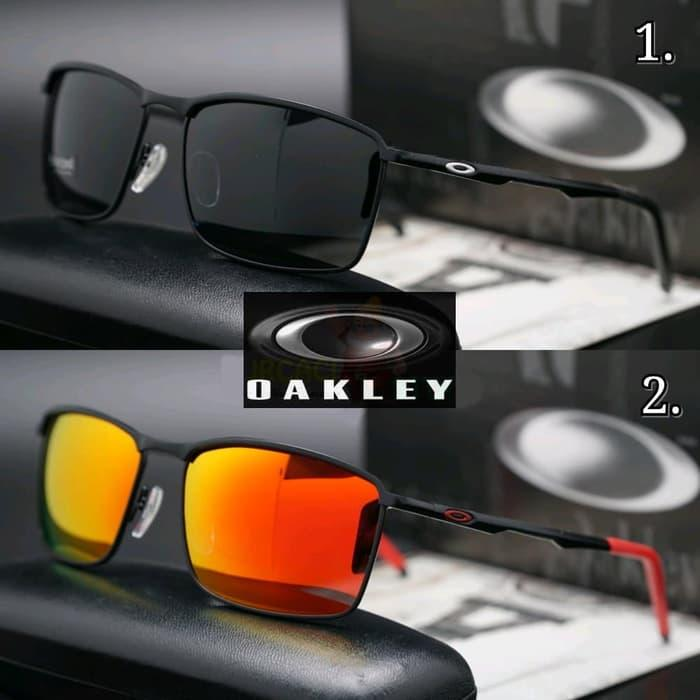 Hemat 10%!! Kacamata Oakley Conductor 6 Lensa Fire Polarized - ready stock