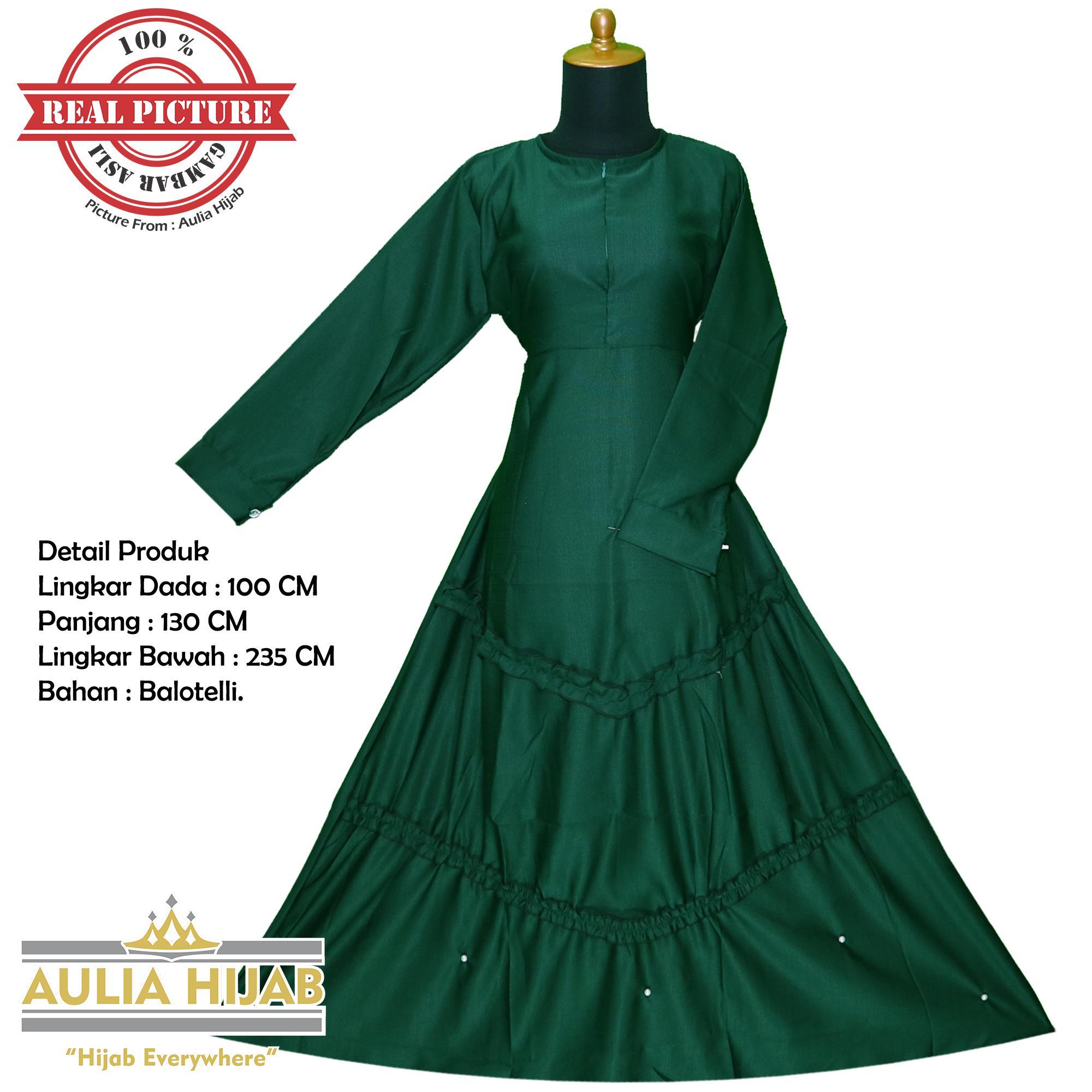 Aulia Hijab - Gamis Jihan Dress Bahan Balotelli/Gamis Balotelli/Gamis Balotelli Premium/Gamis Katun/Gamis Katun Dress/Gamis Murah/Gamis Cantik/Gamis Pesta/Gamis Terbaru/Gamis Real Picture/Gamis Aulia Hijab