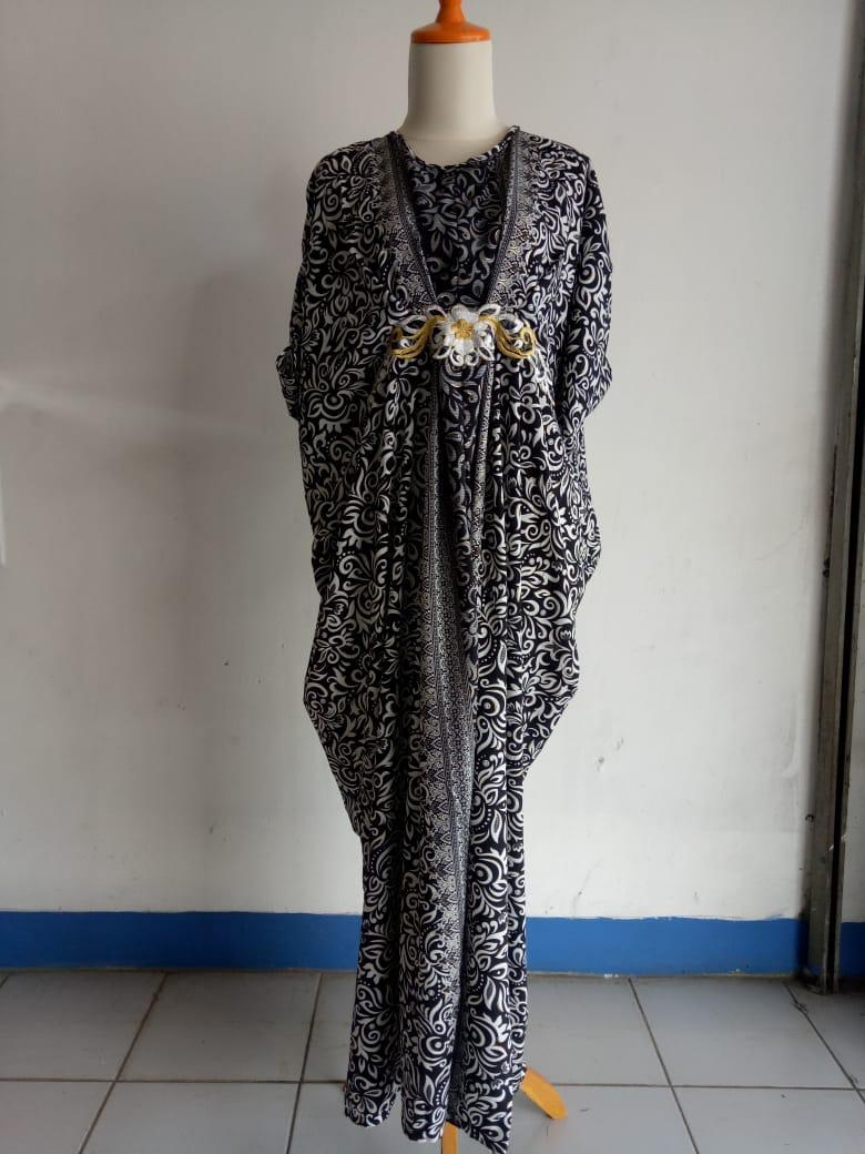 SB Collection Dress Maxi Tari Longdress Kaftan Gamis Jumbo Batik Wanita
