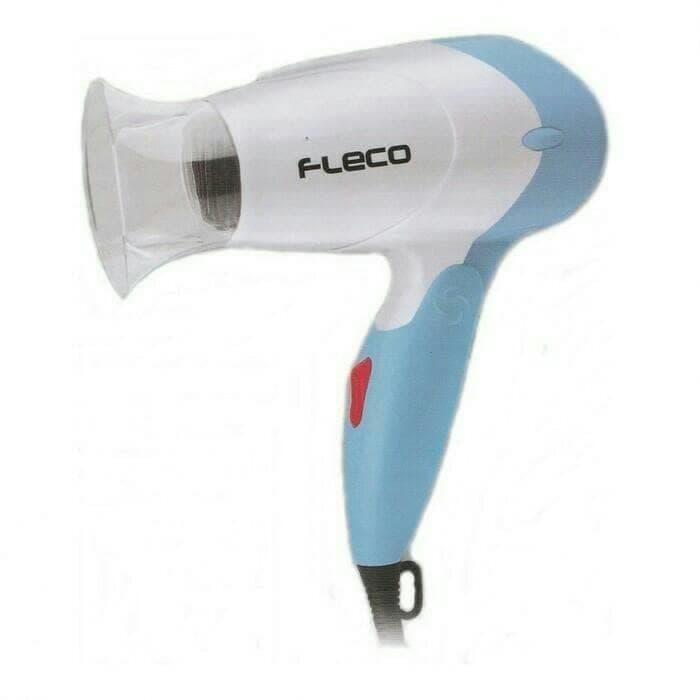 Mini Travel Hair Dryer FLECO 283/ Hairdryer/ Pengering Rambut Lipat