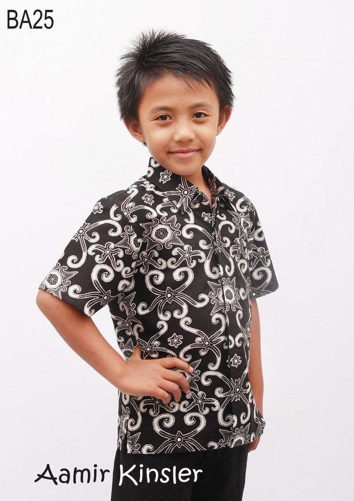Kemeja batik Anak / Batik Anak Cowok / Batik Anak Laki - 6-8 tahun