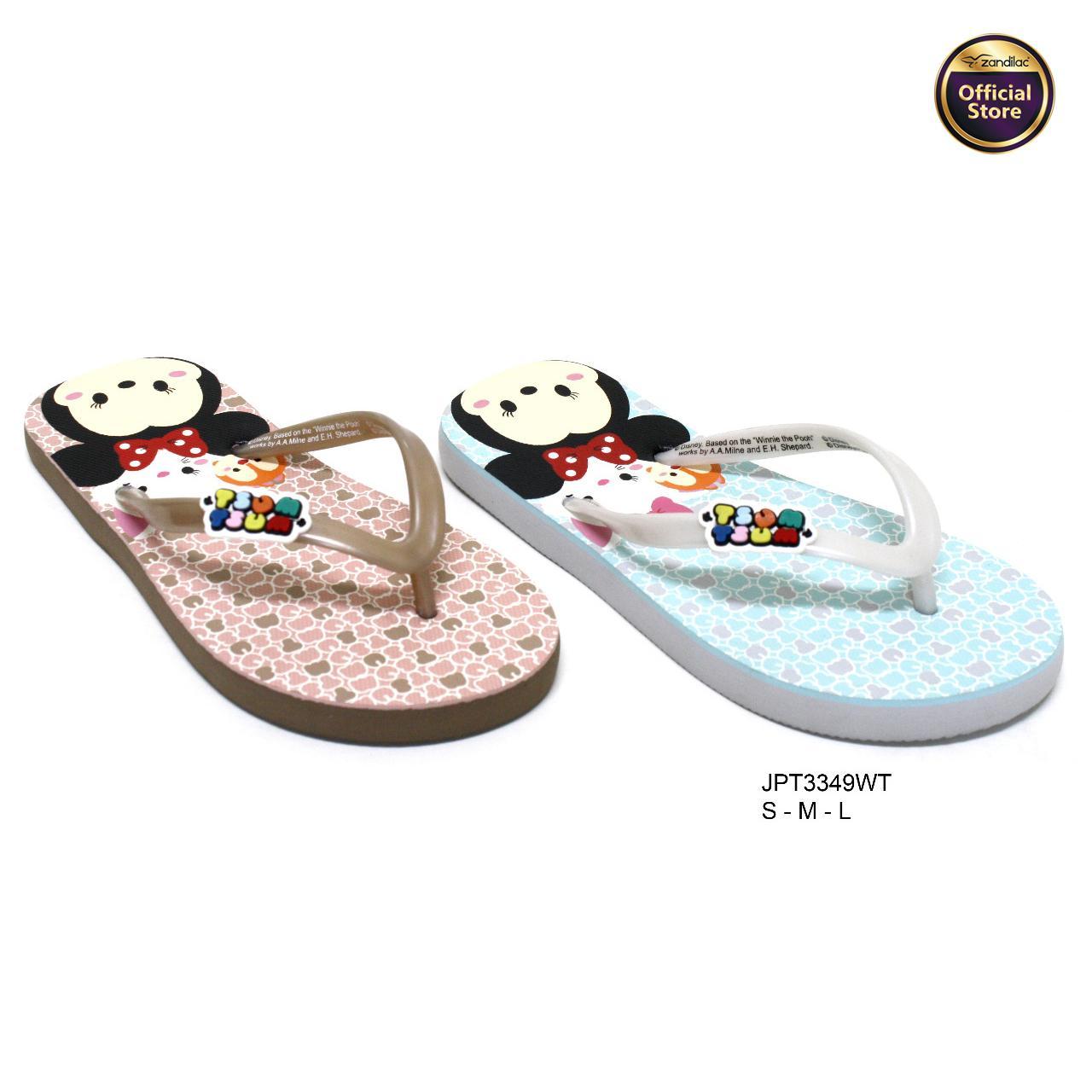 Tsum Piyama Tsumtsum Tiger Sandal Anak Jpt3349wt Coklat