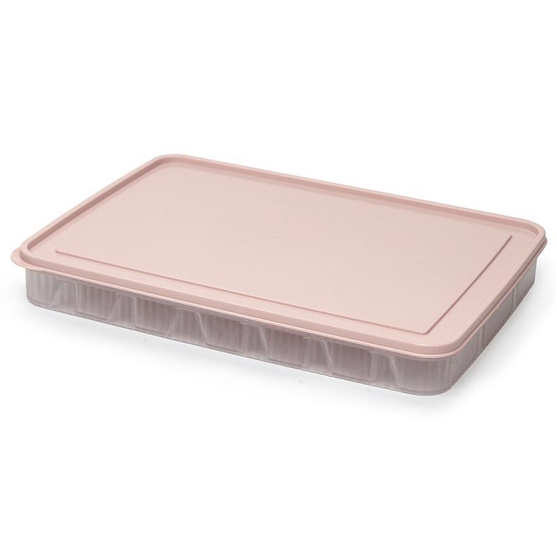 Kotak Pangsit Lapisan Tunggal Ada Tutup Kotak Mempertahankan Kesegaran Makanan (Kotak Crisper) Besar Lemari Es
