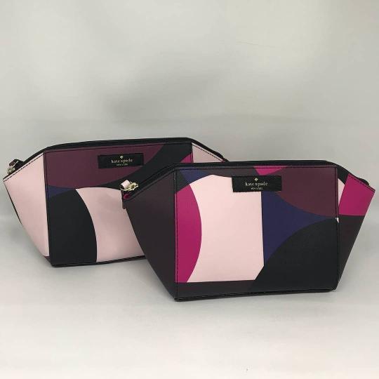 Dompet / dompet wanita Kate Spade  Katespade Eady Make Up Cosmetic Pouch Geo