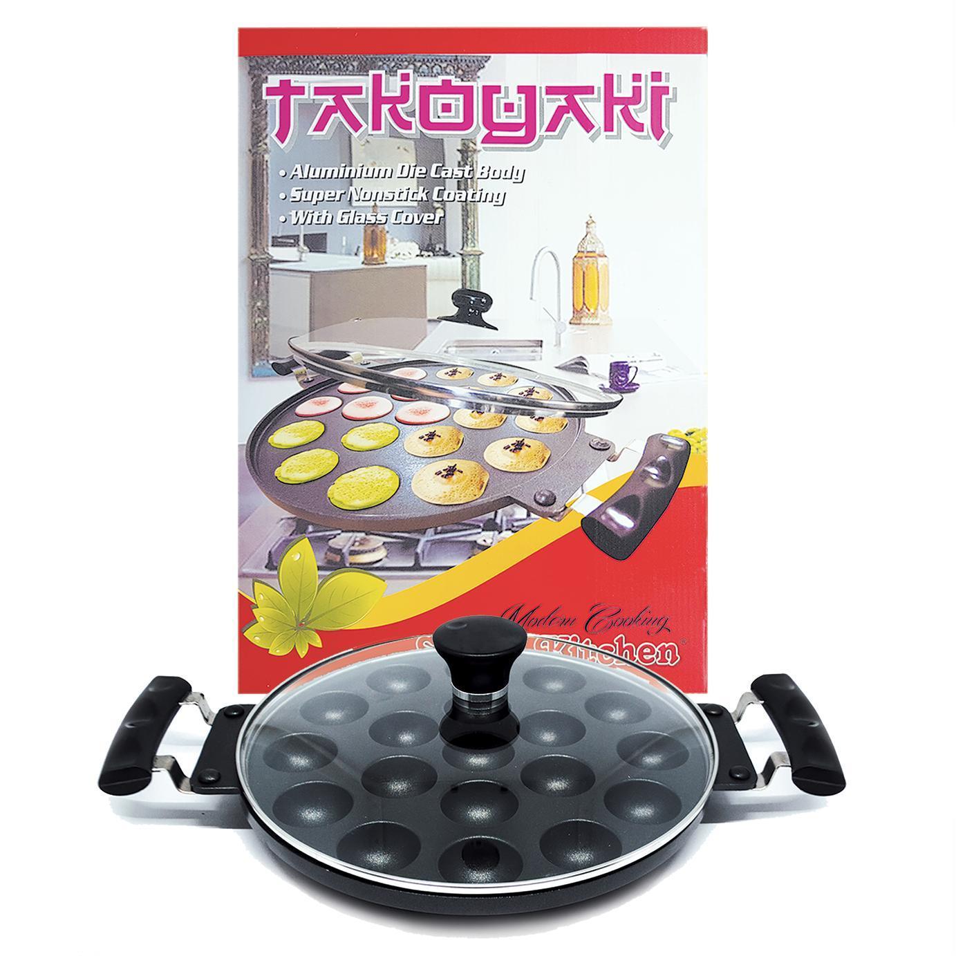 Cake Molds Cetakan Takoyaki 19 Lubang Hakashima