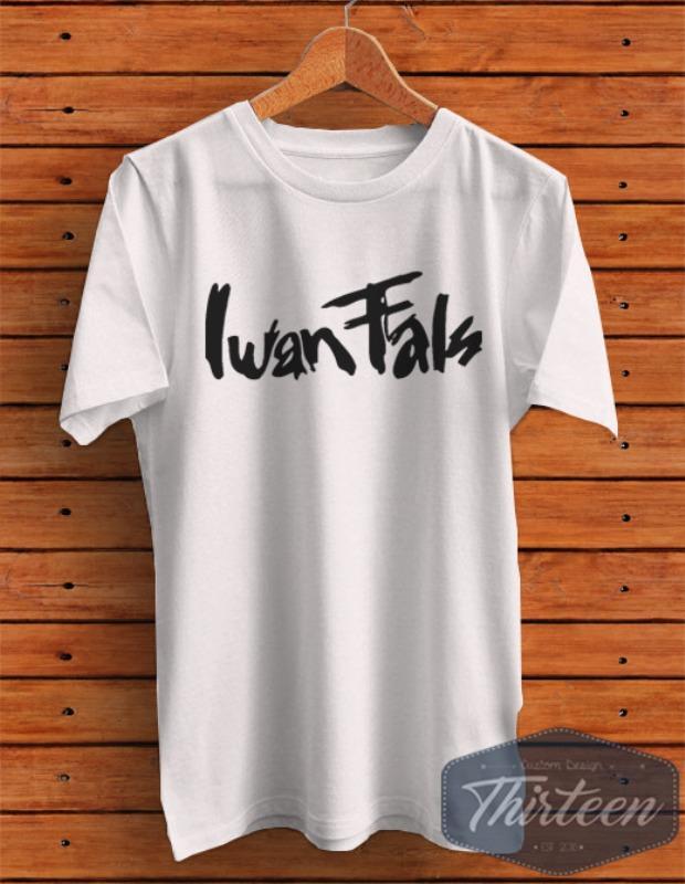 Kaos Original Baju Iwan Fals Kualitas Distro - Putih