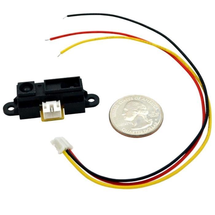 Sharp GP2Y0A21YK0F IR Distance Sensor package 10 - 80cm