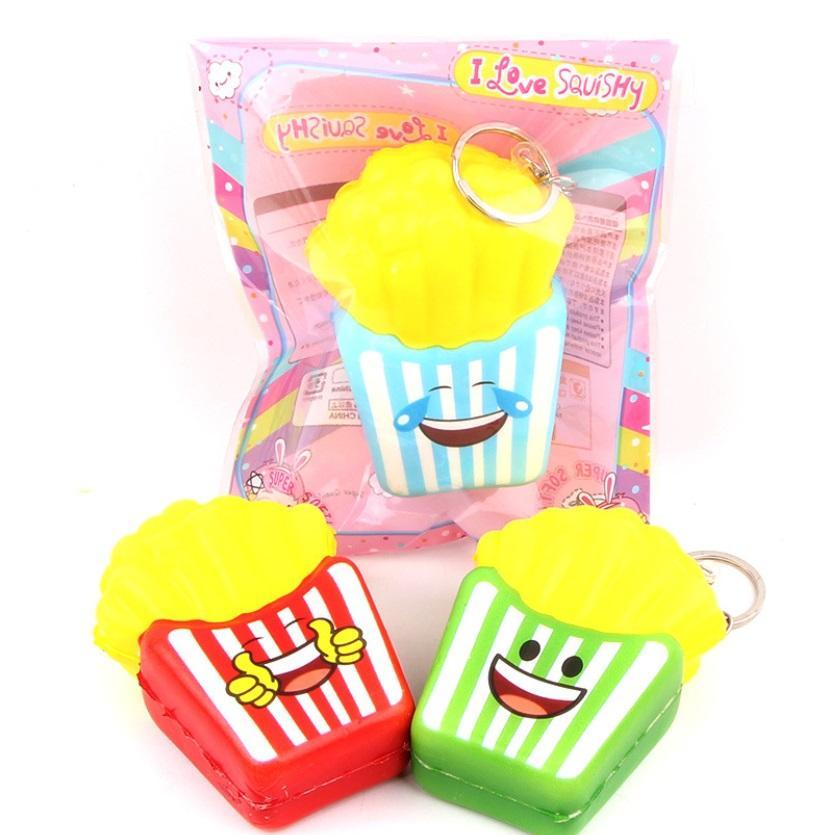 1 pcs squishy licensed sanqi elan model MINI pop corn mainan anak murah