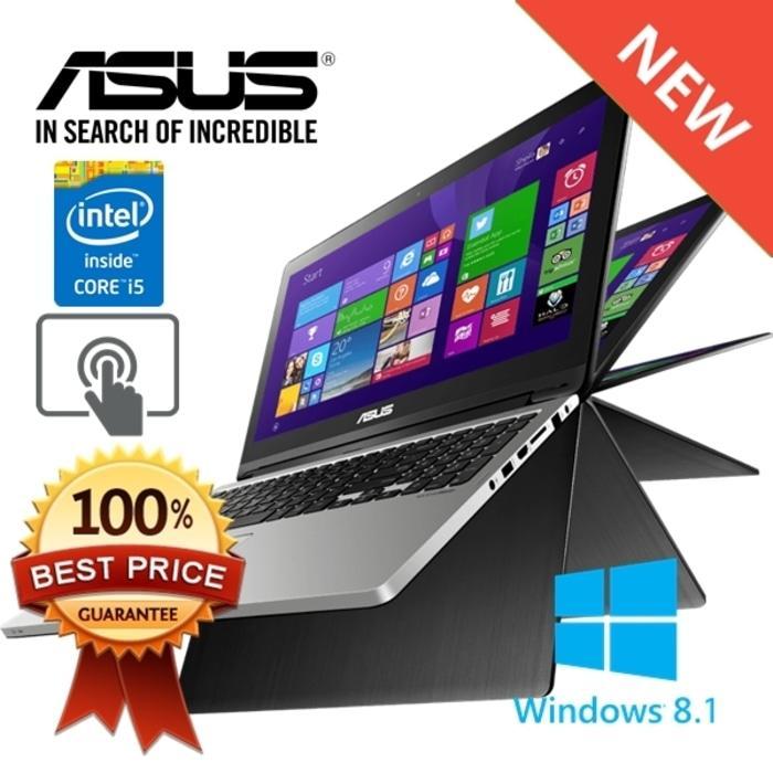 Laptop Murah ASUS TP500LB (I5-5200U,4GB,500GB+24GB SSD,2GB GT940M)