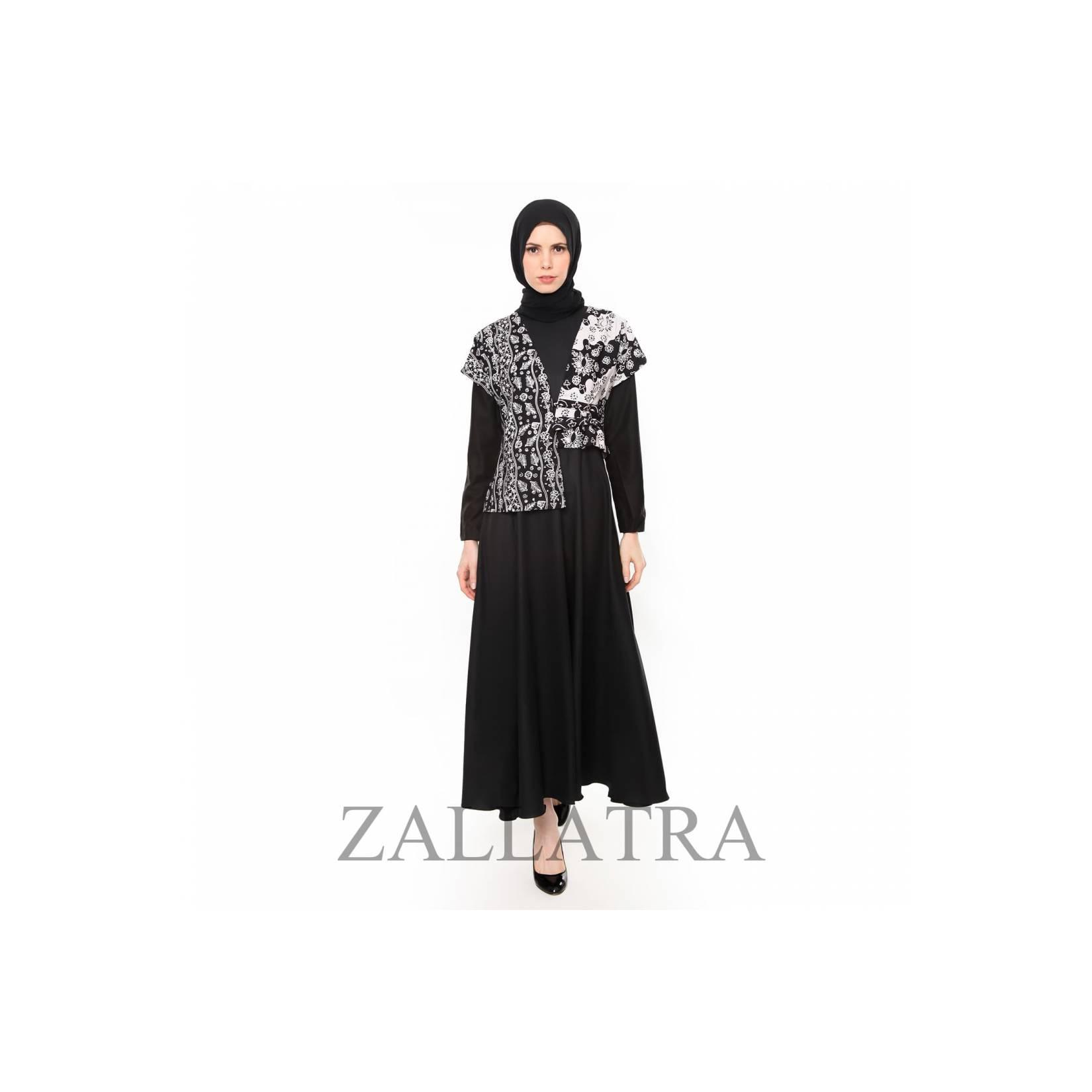 Gamis Batik Wanita Asli Jambi Berkualias - Zallatra GM05