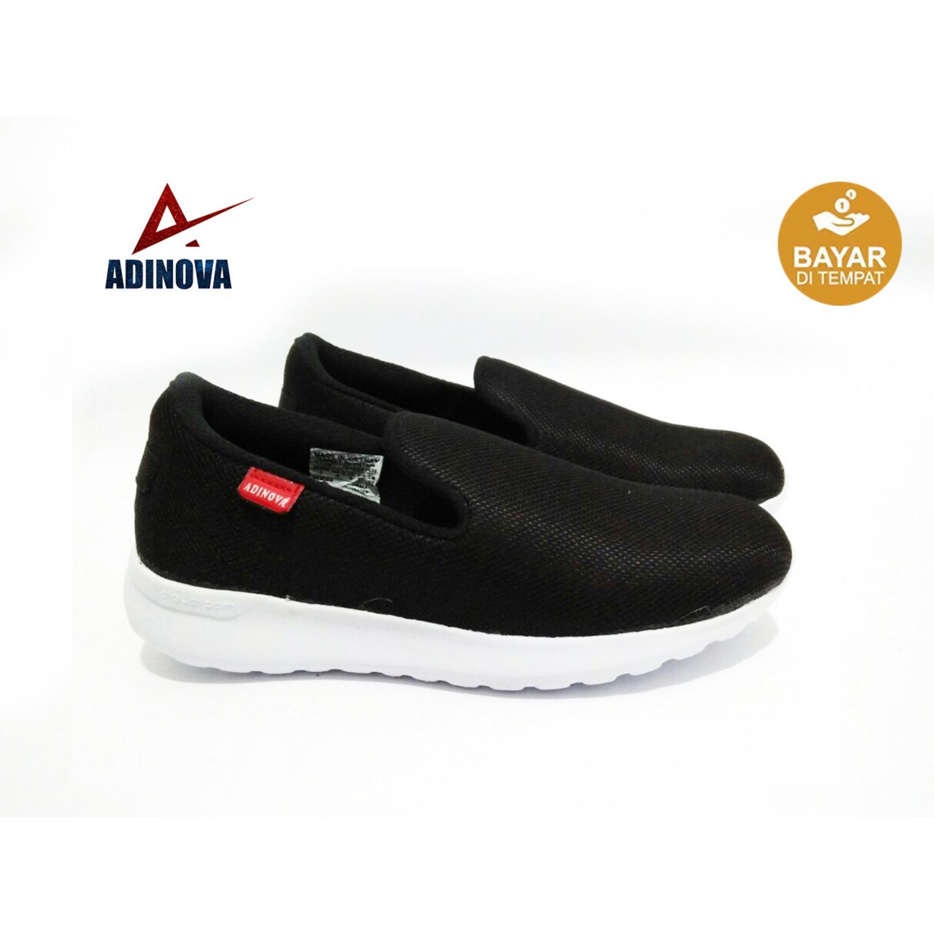 Adinova Sepatu Pria Kets/ Sepatu Slip On Sepatu Santai dan Sepatu Sport A01