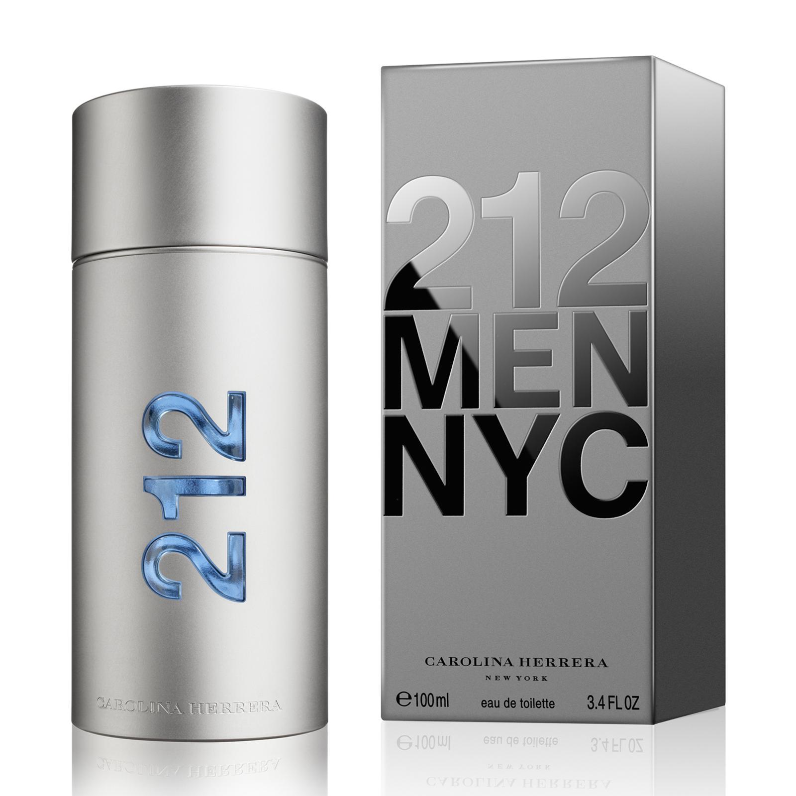 Carolina Herrera 212 NYC Pria EDT 100 ML  Parfum Original