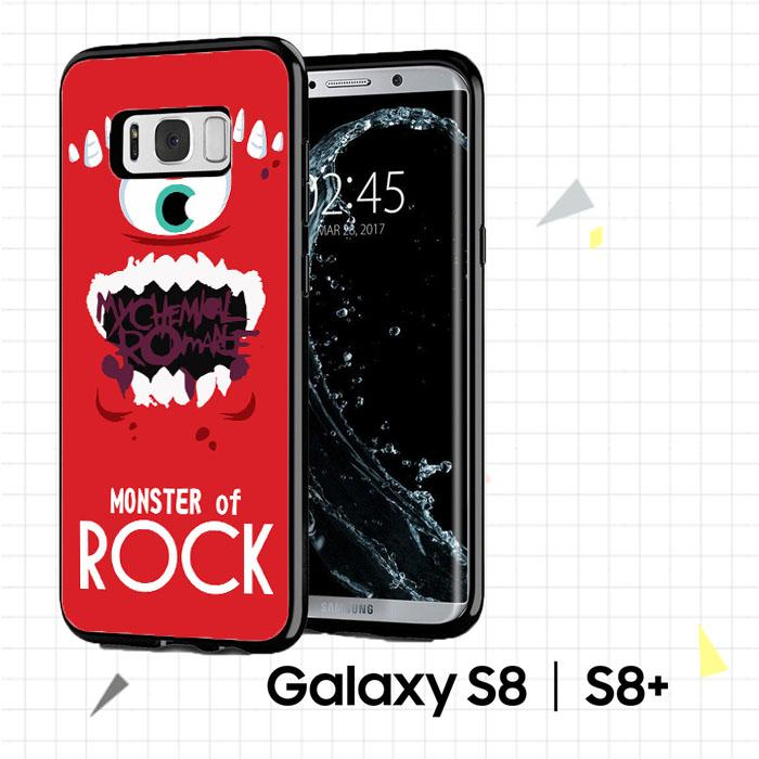 MY CHEMICAL ROMANCE MONSTER J0022 Casing Custom Case Cover Hardcase Samsung Galaxy S8 Plus Case Cover