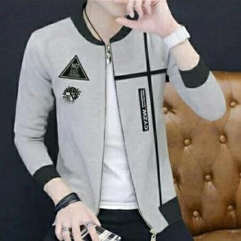 Pencarian Termurah Tj-jaket rodney abu abu-jaket terbaru model kekinian-bomber pria