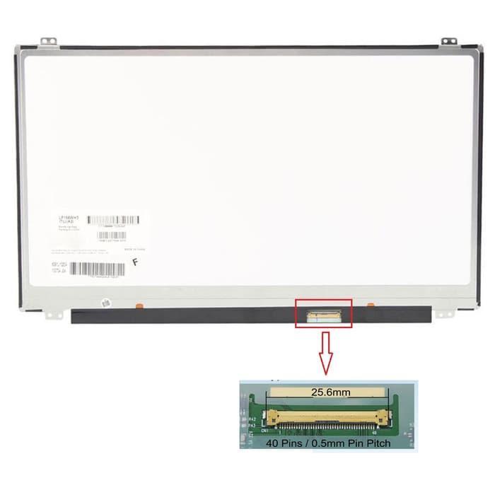 Amita - LED LCD Layar Screen 15.6