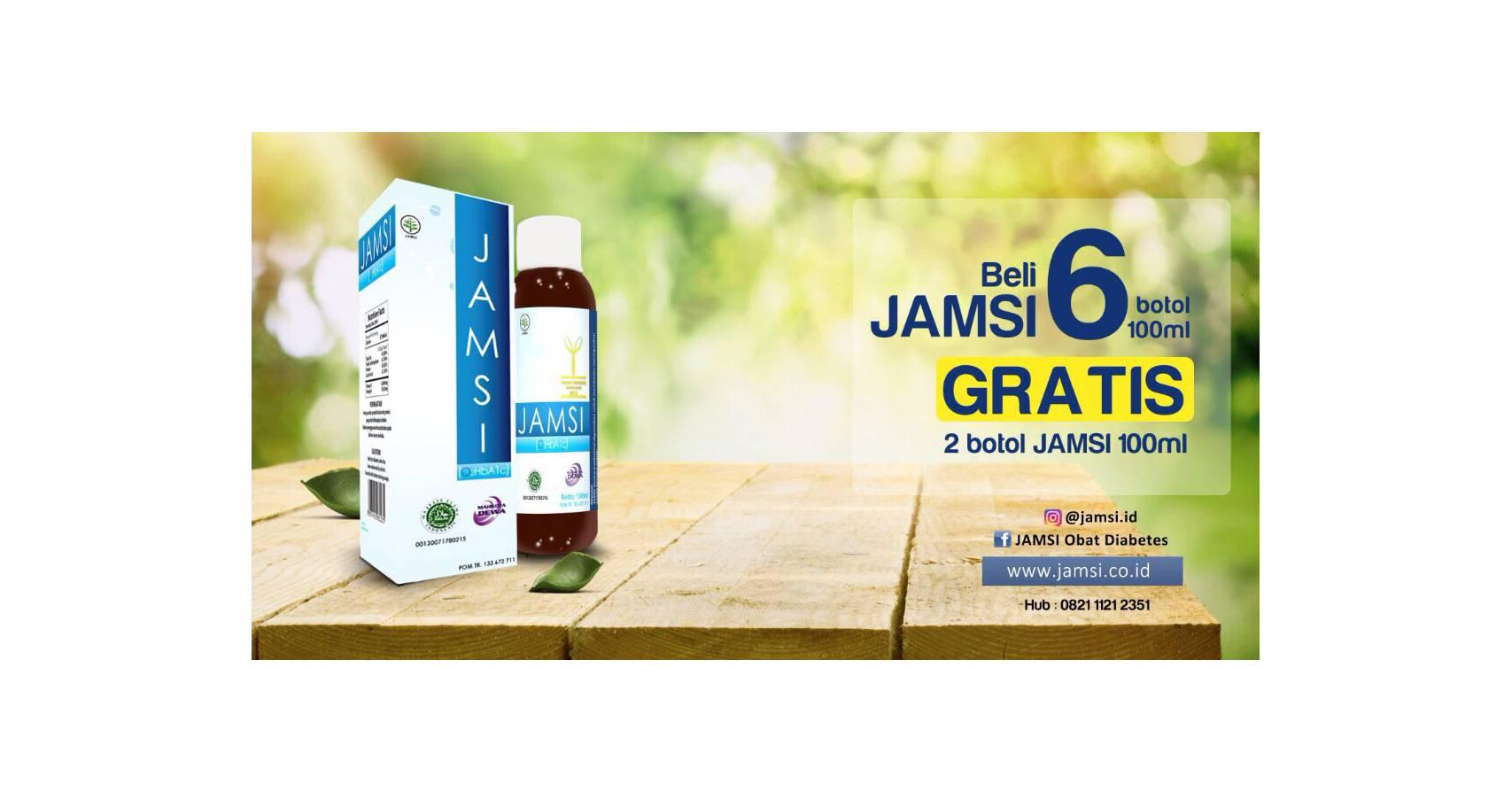 Buy Sell Cheapest Promo Jamsi 100ml Best Quality Product Deals 500ml Beli 6 Botol Free 2