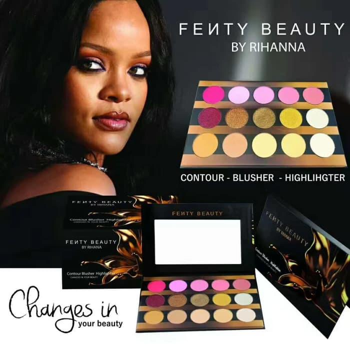 PROMO - FENTY PALETTE - FENTY BEAUTY BY RIHANNA CONTOUR BLUSHER HIGHLIGHTER