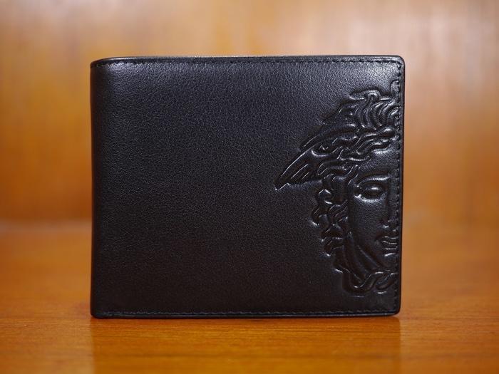 HARGA DISKON!!! dompet kulit pria Gianni Versace DK27-12 black - f6xkzA