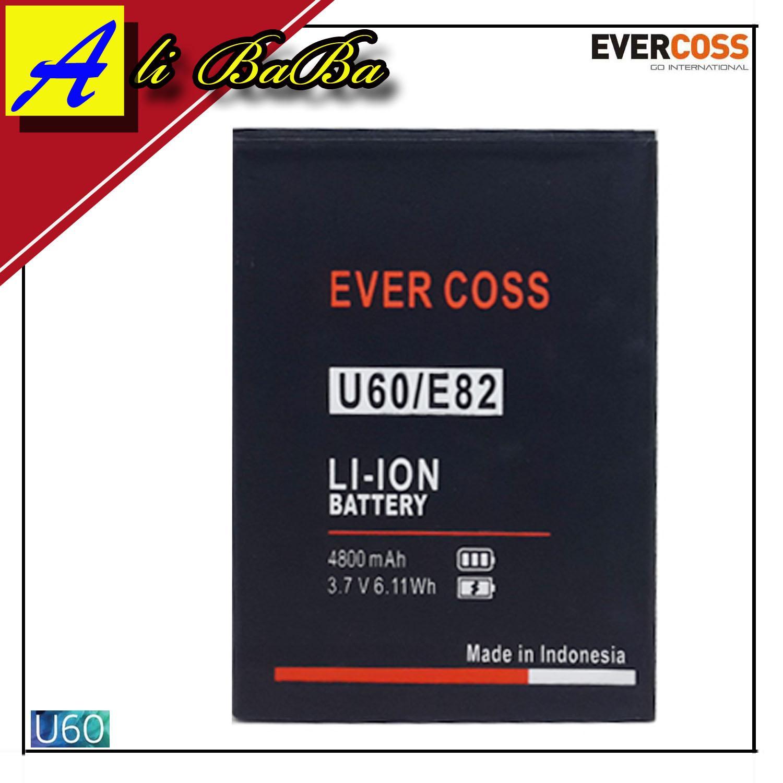 Baterai Handphone Evercoss U60 E82 Double Power Evercoss Batre HP