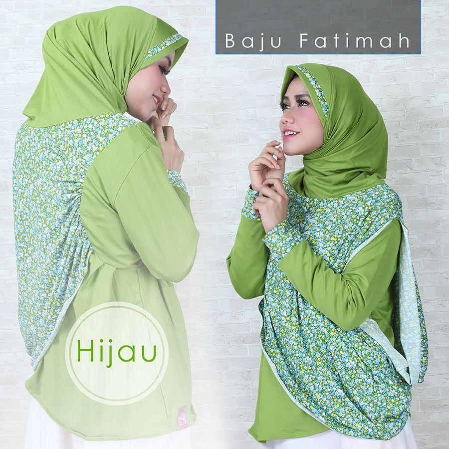 Baju Muslim wanita murah model jilbab lengan fatimah tunik