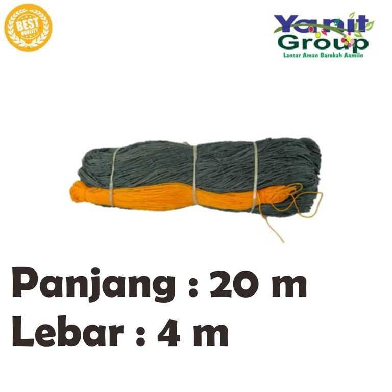 Jaring Pagar Ayam Nylon Panjang 20 M Lebar 4 Meter Promo By Yanit Garden.