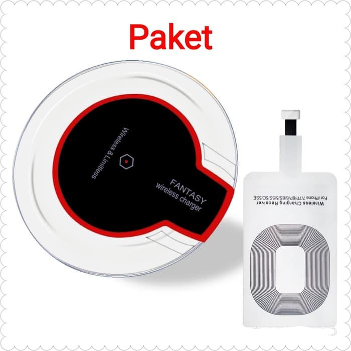 Paket Qi Wireless Charger For Iphone 5 6 7 Ipad Mini Apple By Dila Store 279.
