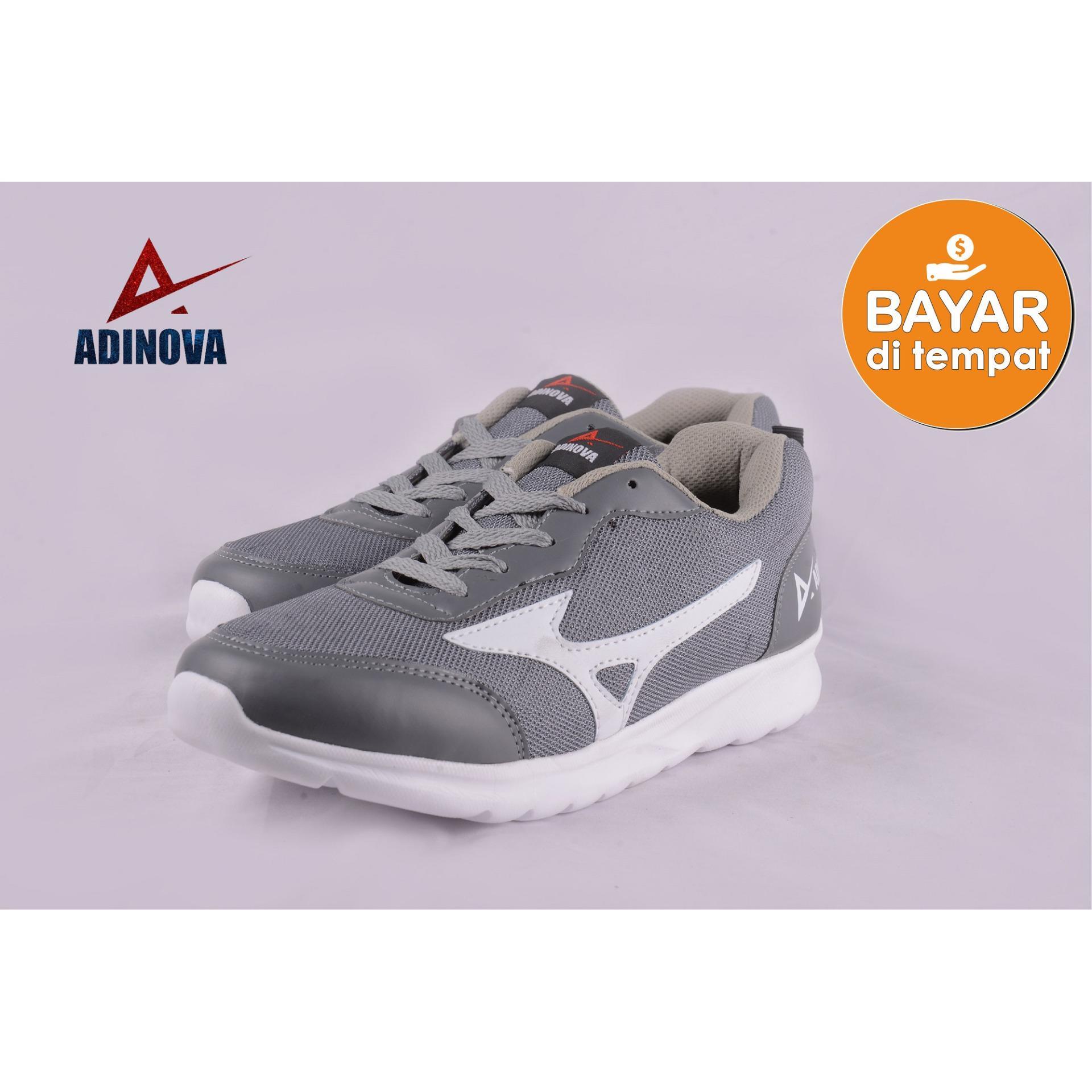 Adinova Shoes Sepatu Sport Pria Aguero  Sepatu Sneaker Pria   Sepatu  Olahraga Sepatu Lari f19aa718ee