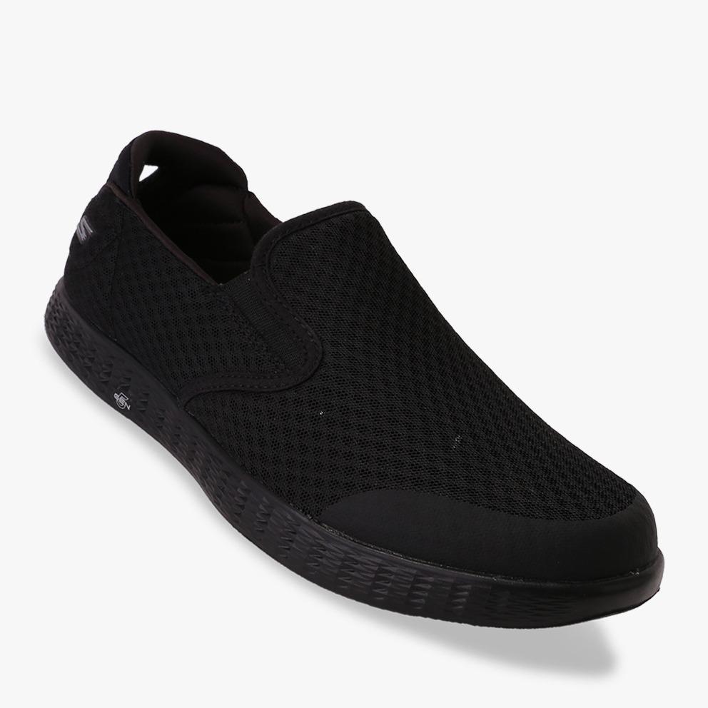 Skechers On The Go Glide - Response Sepatu Sneakers Pria - Hitam e9f0059737
