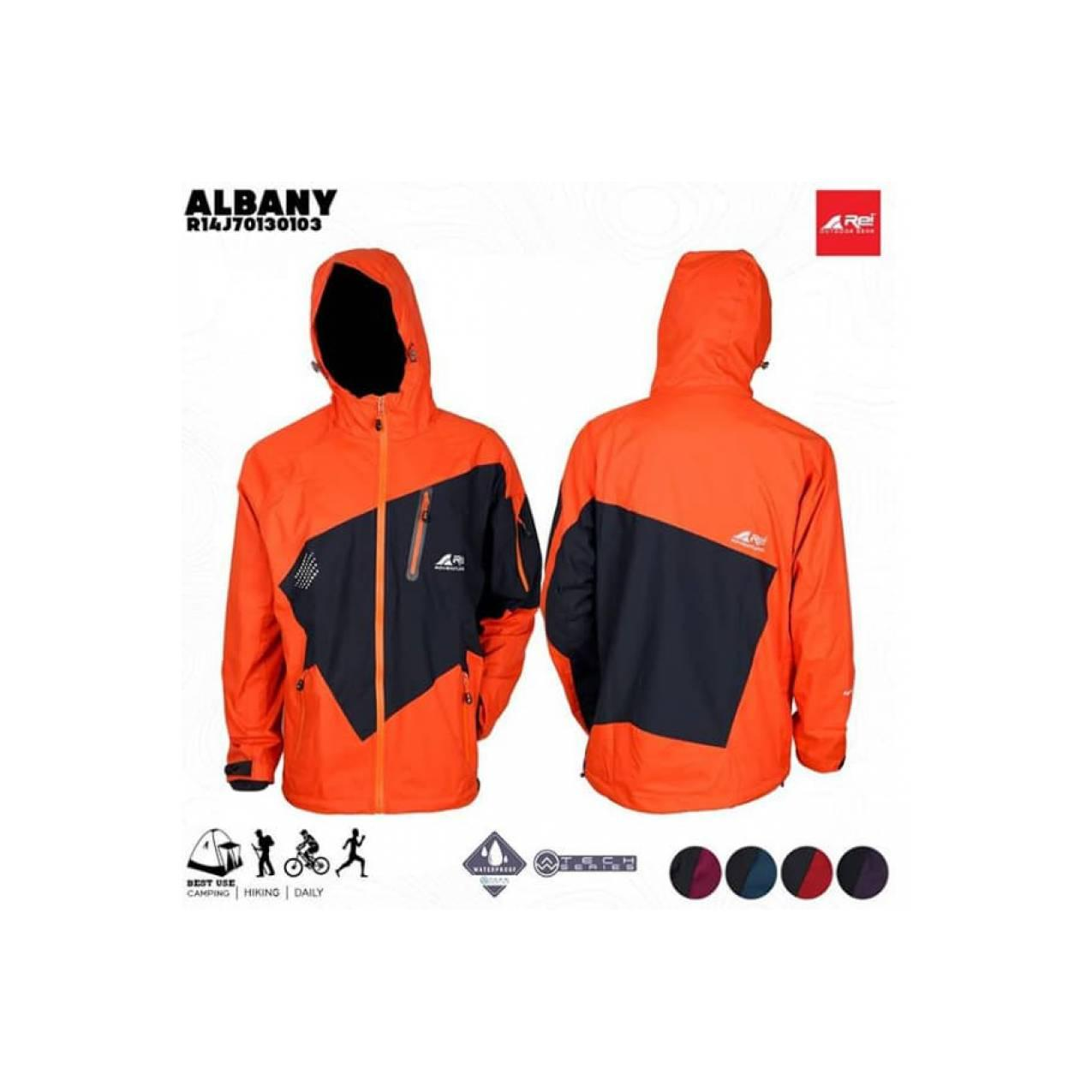 Jaket Gunung Rei Albany