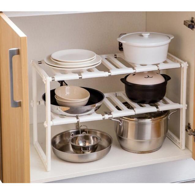 Almari Penyimpanan Tempat Buku Minimalis Wadah Peralatan Dapur Lemari Untuk Di Dapur 057 2 Susun