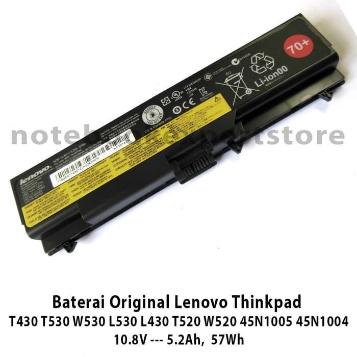 SALE - Baterai Original Lenovo Thinkpad  T430 T530 W530 L530 L430 T520 W520 Original