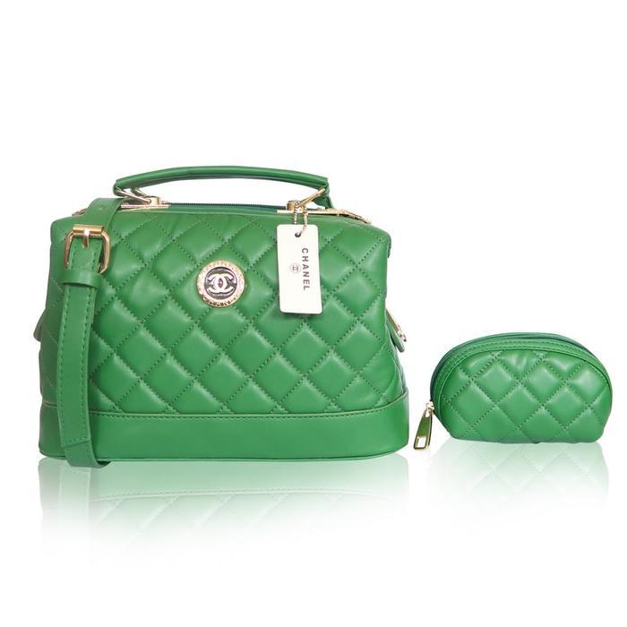 Tas Chanel Doctor / Free Mini Pouch / Handbag Slingbag