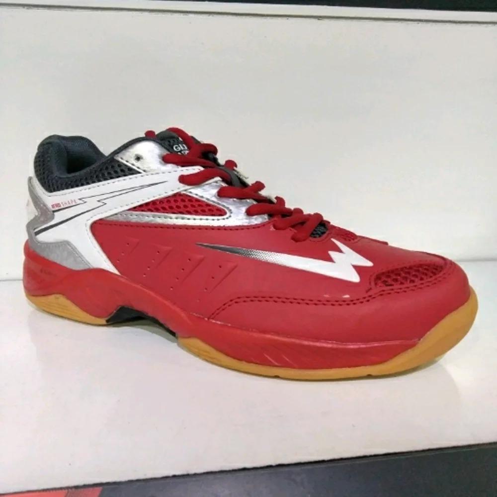 Sepatu Running Eagle Spitfire - Dark Red, Grey