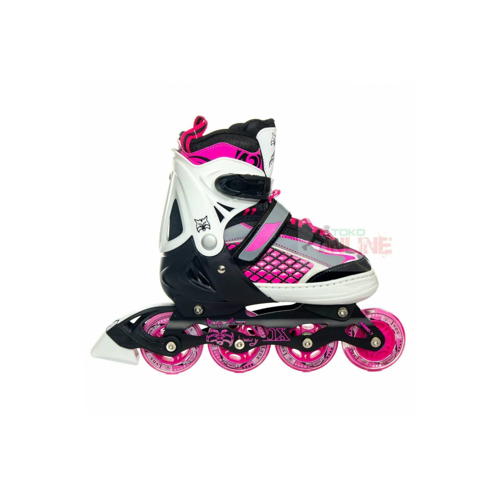 Lynx Sepatu Roda Inline Skate Lynx Blacken Hitam - Update Daftar ... db3a1deef3