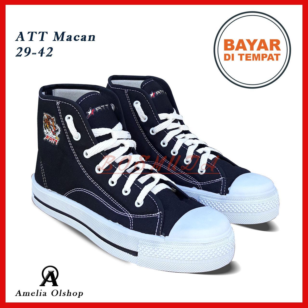 Amelia Olshop - Sepatu Boots Pria ATT 37-42 / Sepatu Pria / Sepatu Pria Murah / Sepatu Sekolah / Sepatu Sneakers Pria / Sepatu Kets Boots Pria
