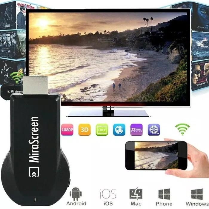 Mirascreen Wifi Display Hdmi Dongle Miracast By Inti Store.