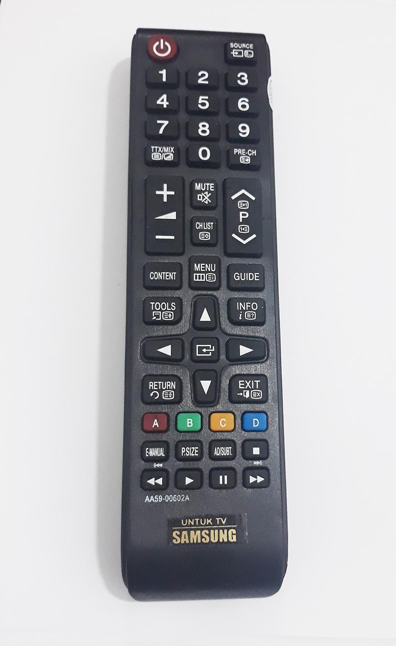 Samsung Remote TV LCD LED Semua tipe - Hitam