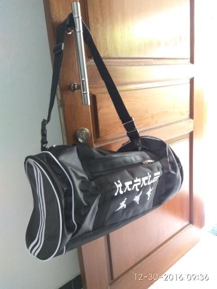 HARGA DISKON!!! Tas Karate selempang bola futsal training olahraga travel - lAkYEc