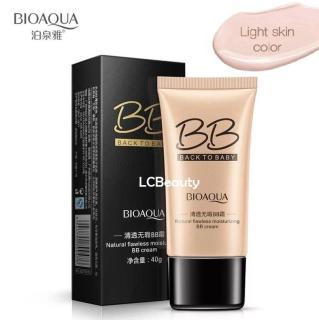 BIOAQUA BB BACK TO BABY - Bioaqua BB Cream flawless moisturizing - 03 LIGHT BEIGE thumbnail