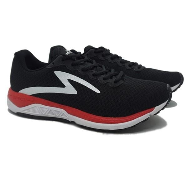 Indonesia. Sepatu Running Pria Specs Dual Enduro - Black Emperor Red White b6f19ef0a8
