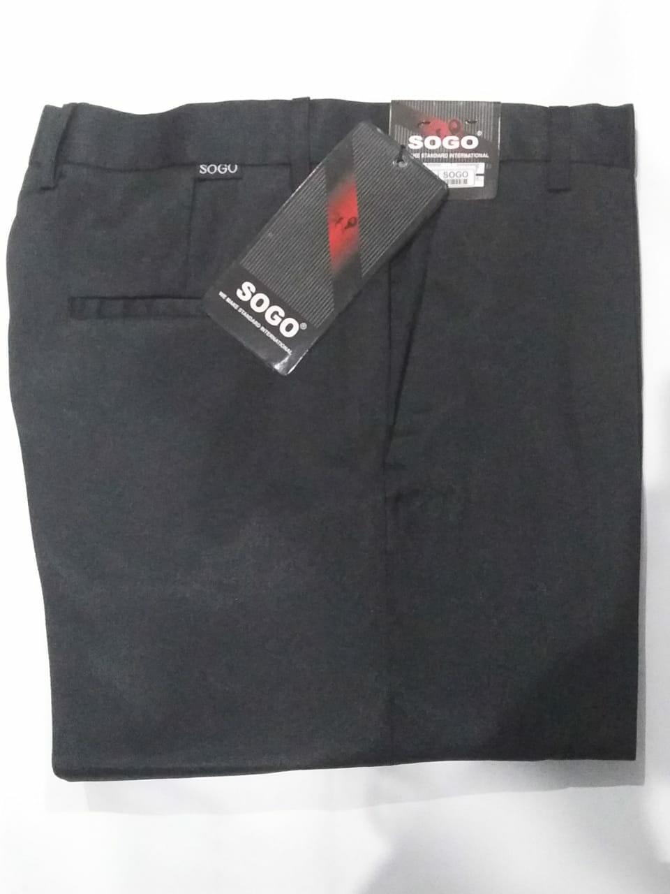 Celana Chino Formal Kasual Pria Panjang Htam Prosperoz Kantoran Kerja Slim Fit Modern